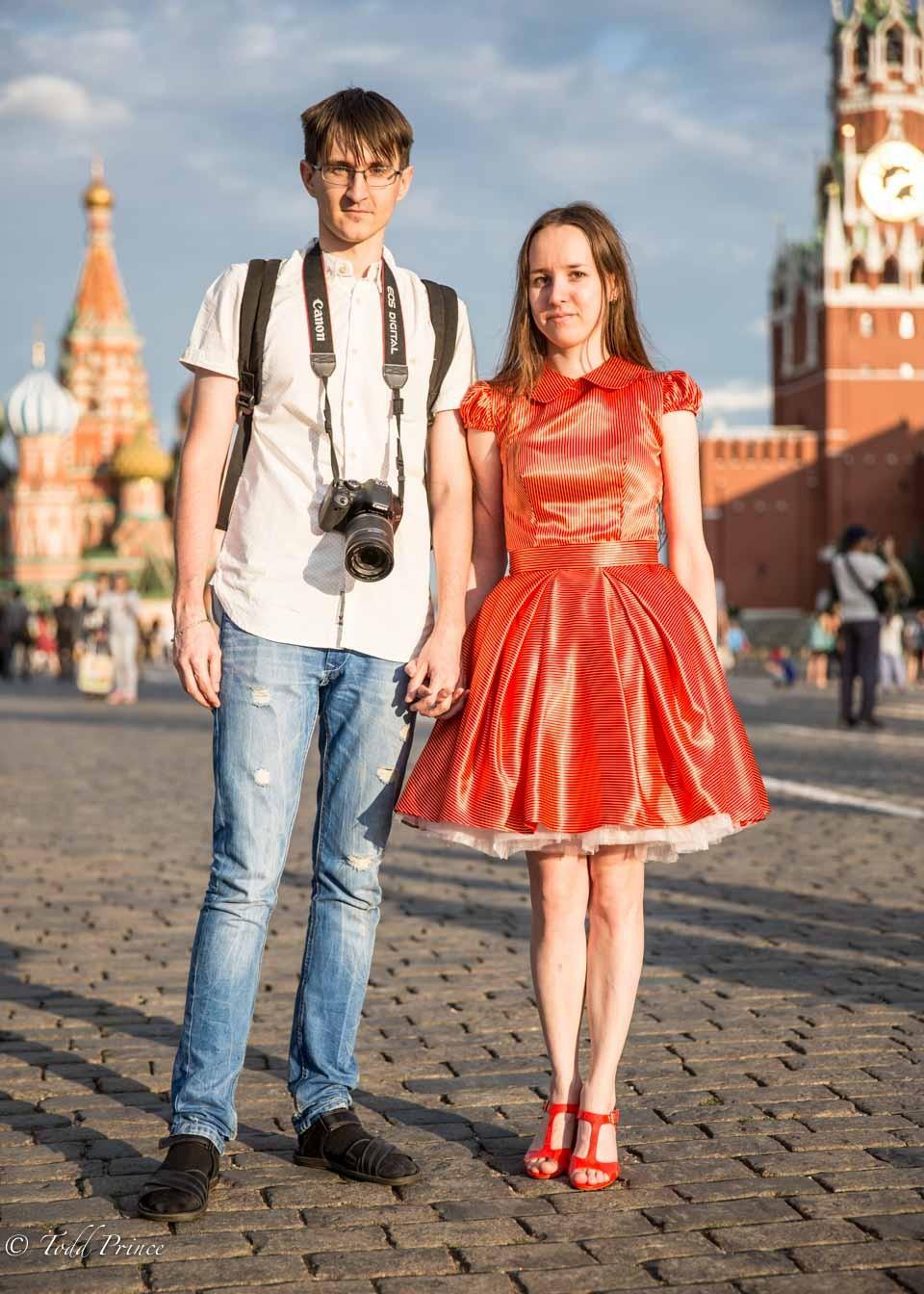 Ivan &  Nadezhda: Visiting from Surgut