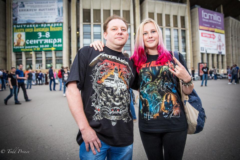 Dmitry & Alyona: Metallica Fans
