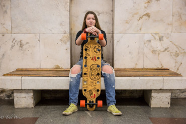 Katya: Teenage Skateboarder