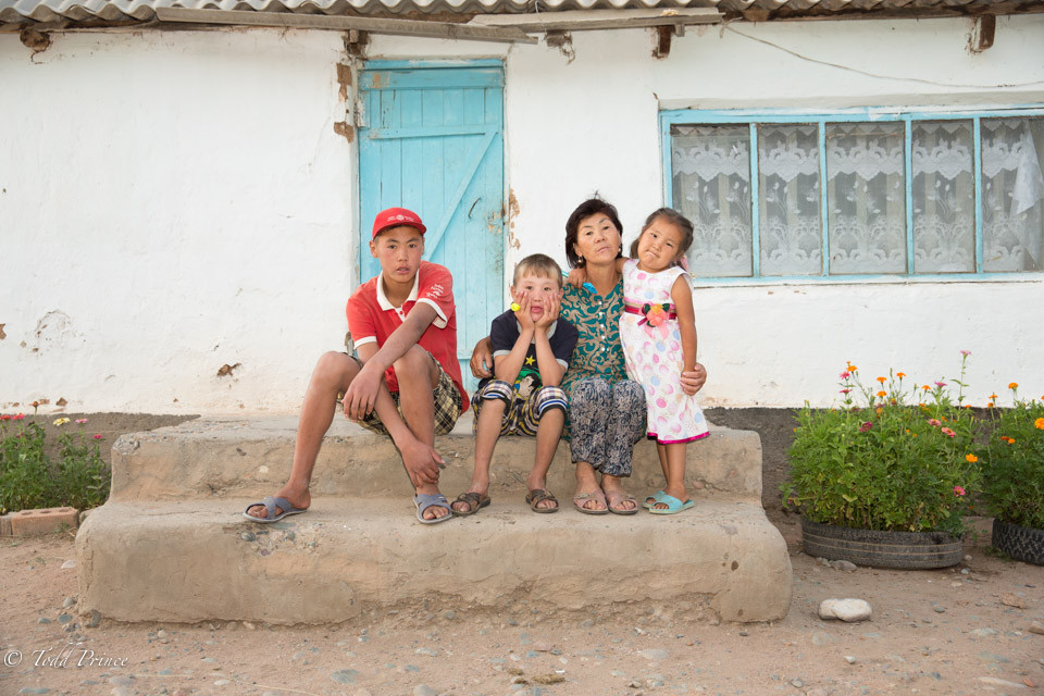 Kyrgyz Village Family