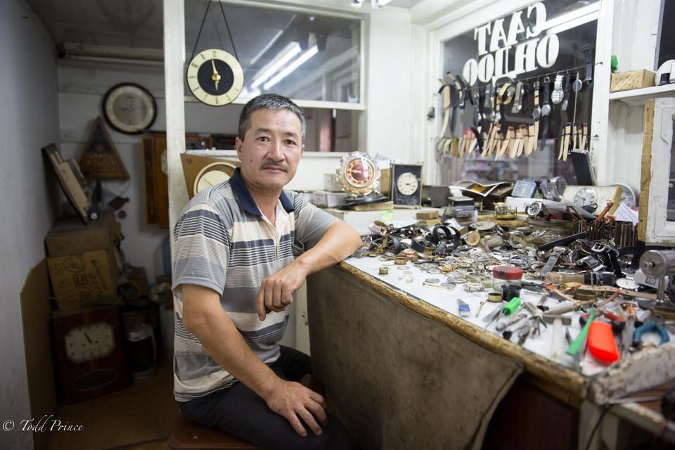 Misha: Kyrgyz Watch Specialist
