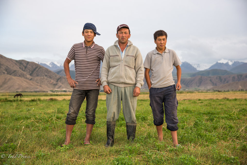 Kyrgyz Farmer, Last of USSR Conscripts