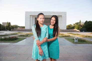 Kyrgyz High School Students
