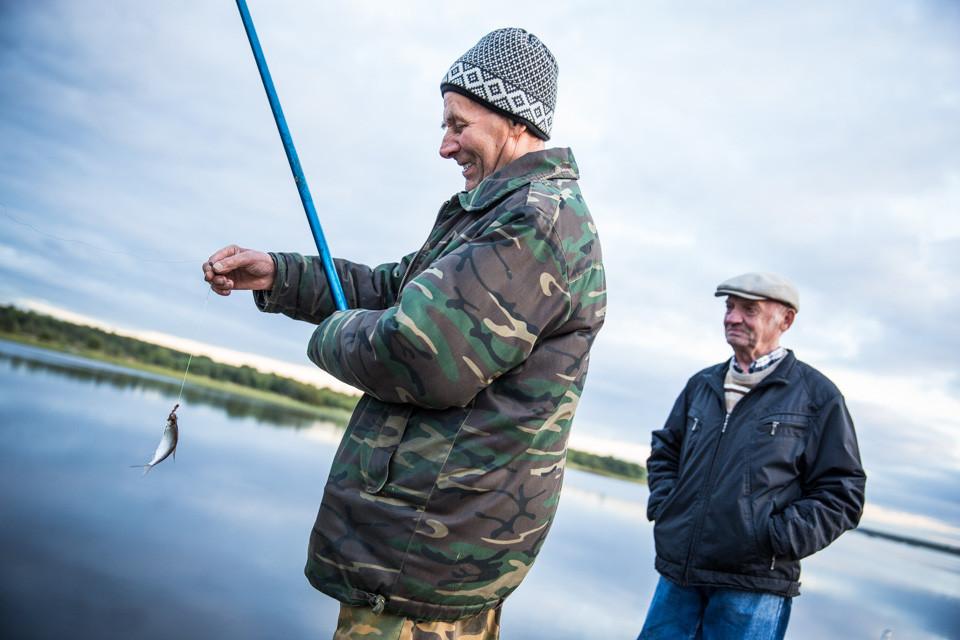 Retired Engineer, Fisherman