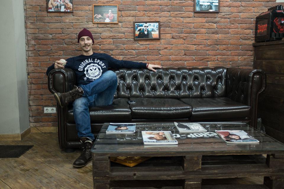 Alexander: Tattoo Salon Owner