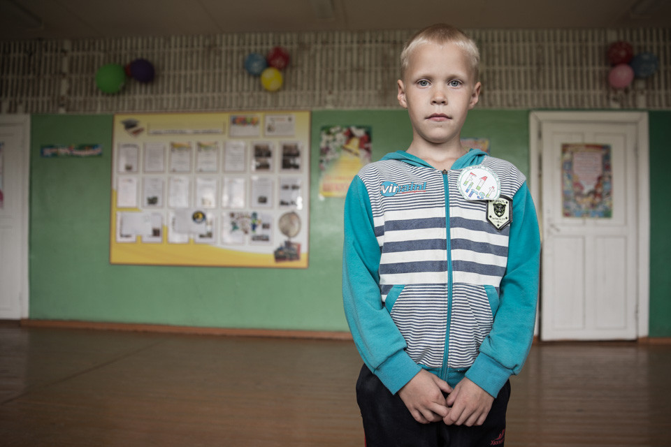 Russian Village Pupil