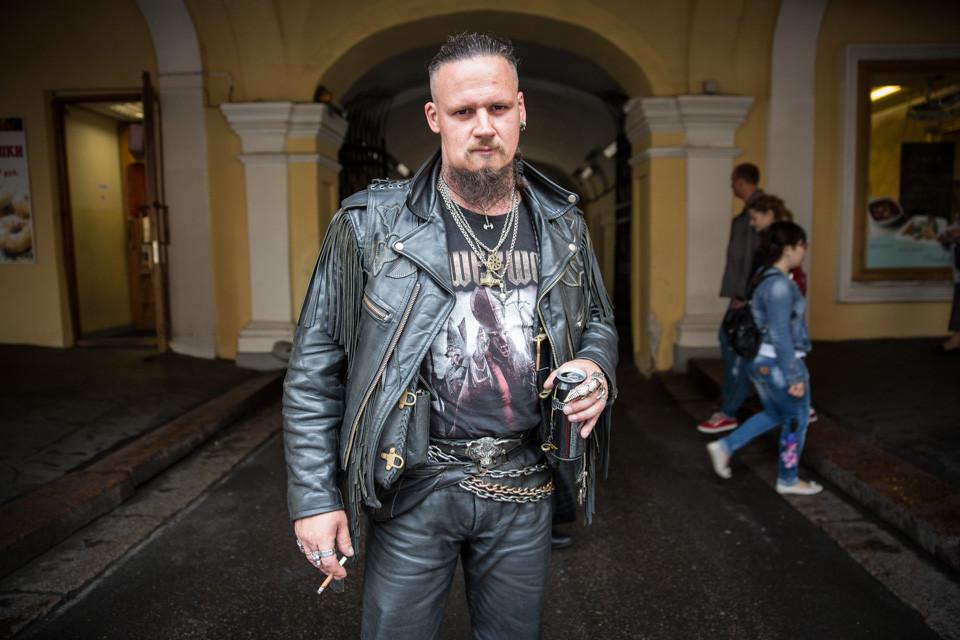 Slava: Heavy Metal Fan
