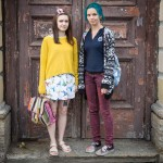Adelina and Polina, 24, both grew up in the steel town of Magnitogorsk.