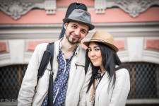 Alan & Gulnaz live in Moscow and traveled to St. Petersburg for Alan's music performance.