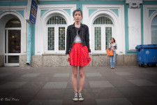 Sasha grew up in Murmansk and lived briefly in Sochi and Moscow before moving to St. Petersburg.