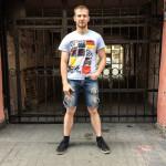 Mikhail was in St. Petersburg to take part in a marathon.