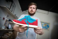Vladimir first got interested in sneakers as a teenage skateboarder in St. Petersburg.
