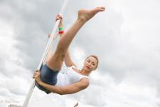 Snezhana, 40, opened her own pole dancing school in September, 2014.