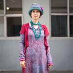 Svetlana said she normally dresses like this.