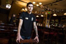 Marat at the Irish Bar.