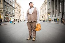 Konstantin, a construction industry worker