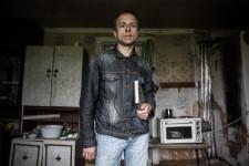 Sergey, Russian village school teacher